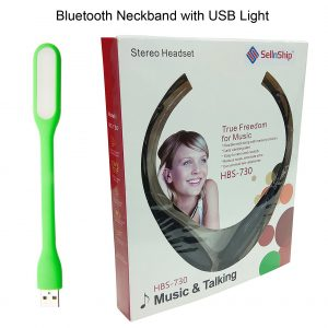 neckband with usb light