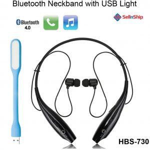 neckband with usb light