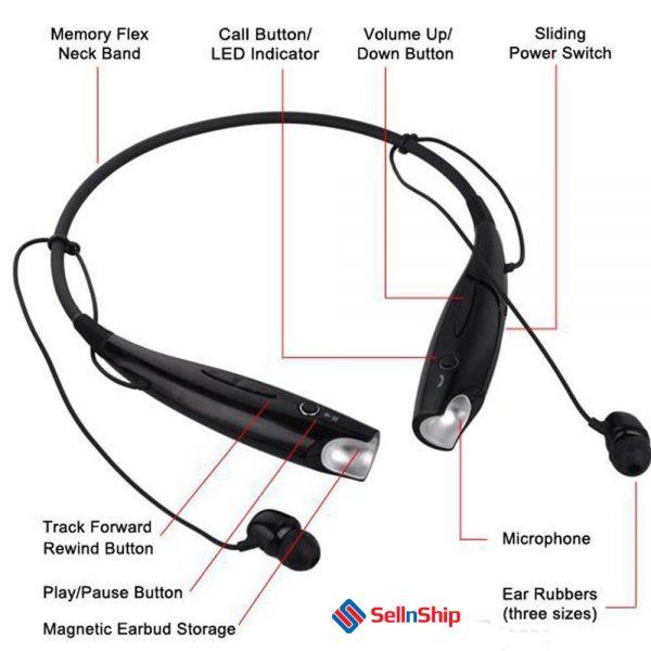 HBS-730 Neckband Bluetooth-Wireless