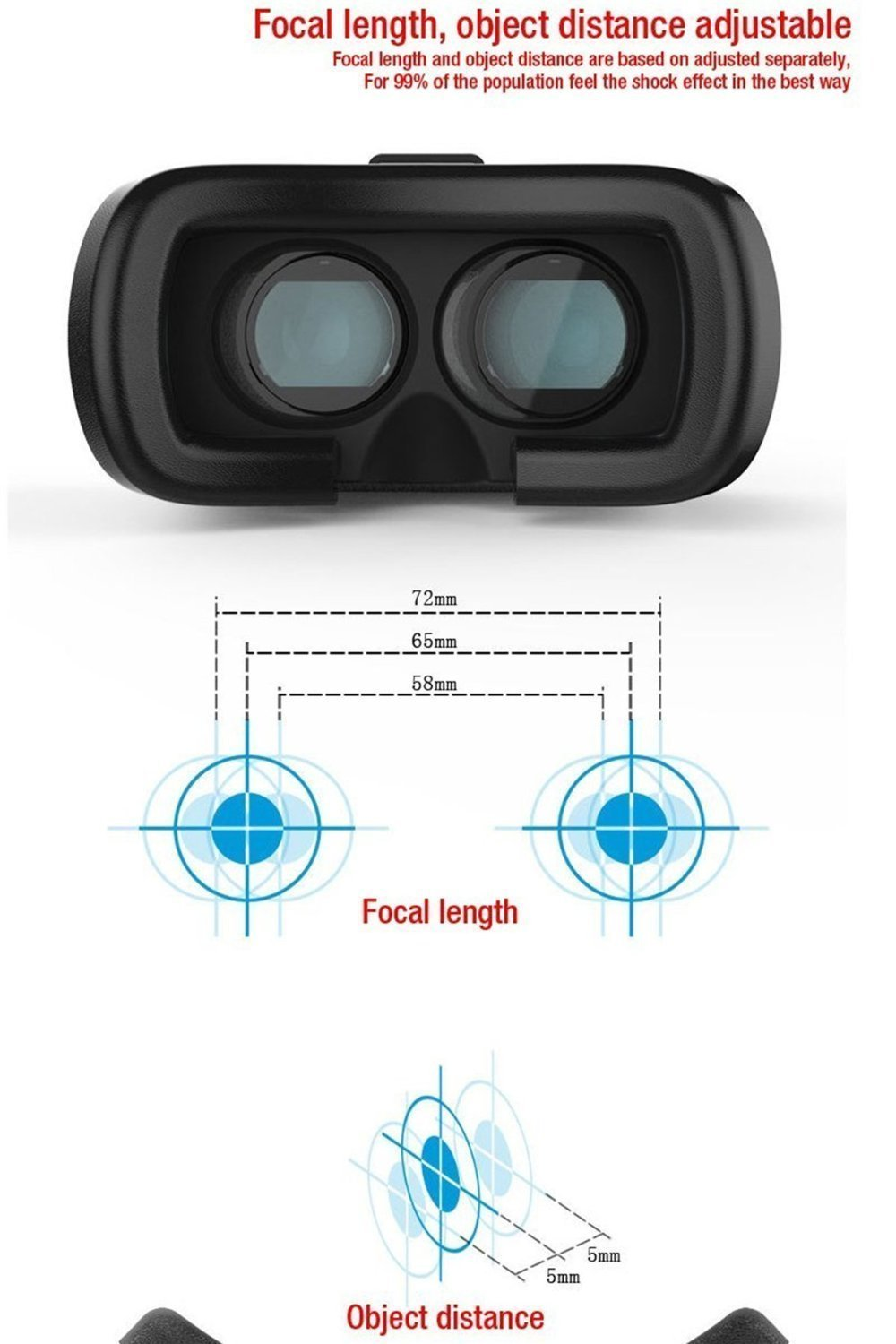 Vr Box Imported Virtual Reality 3d Glasses Google Cardboard For Plus Remote Bluetooth Smart Phones Sellnship Store
