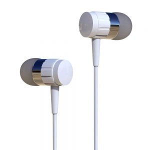 Sellnship Earphone with Mic and Sound Control for All Smartphones and Powerful Bass