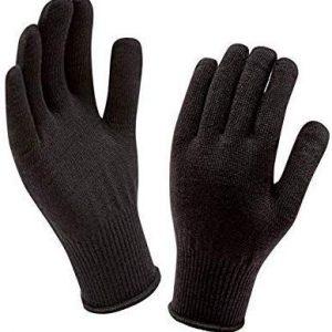 SellnShip Woolen Gloves - Black